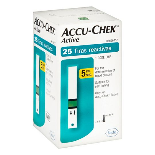 Accu-Check Active 25 Caja