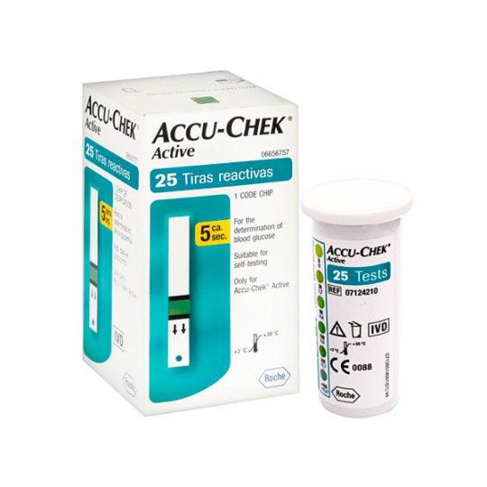 Accu-Check Active 25 Caja Y Producto