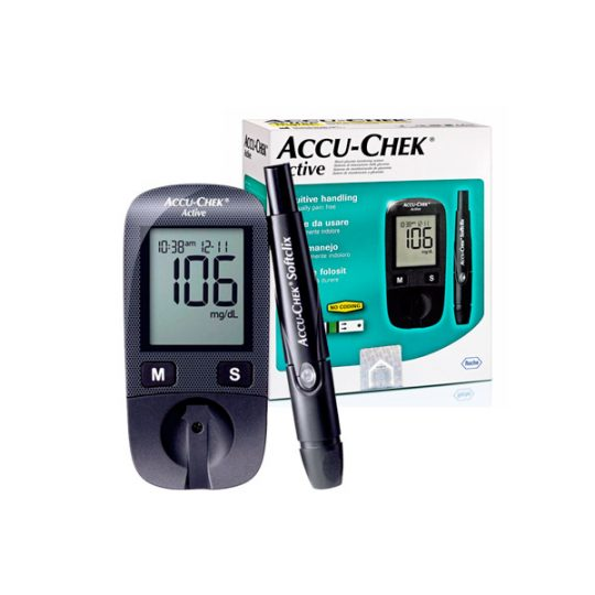 Accu-Check Active Kit Caja y Producto
